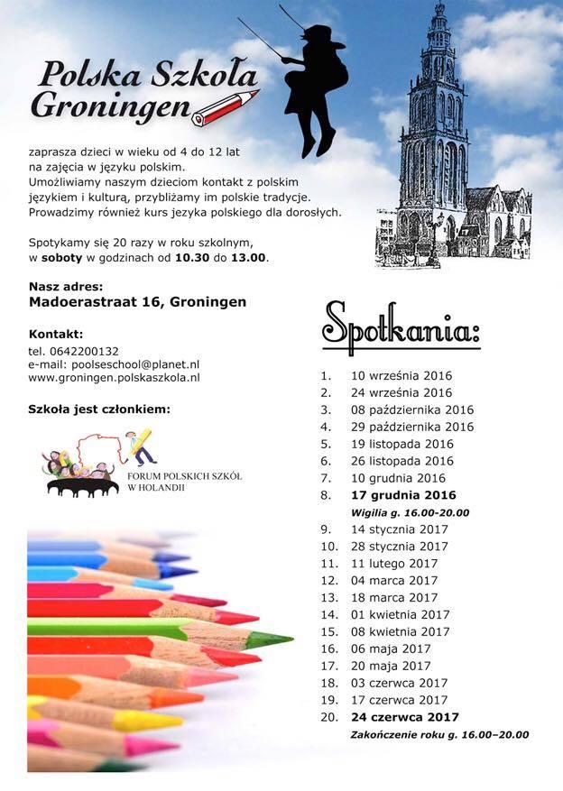 roku szkolnym 2016-2017